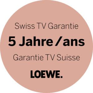 LOEWE mit 5 Jahren Garantie